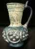 Islamic Glass Pitcher with Applied Decoration
