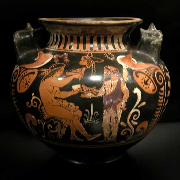 Faliscan Red-figure Stamnos