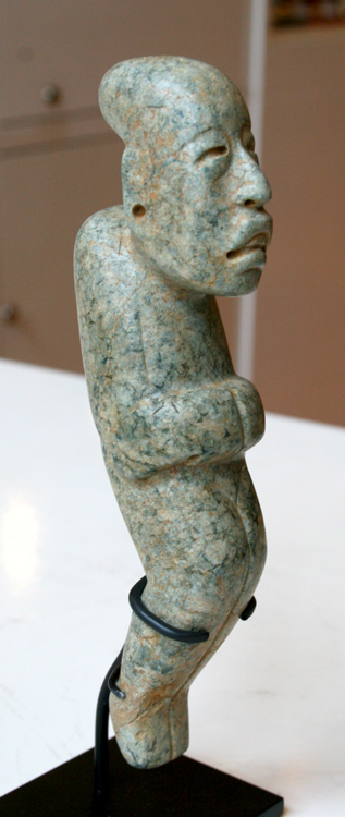 Olmec Jade Figure of a Hunch Back