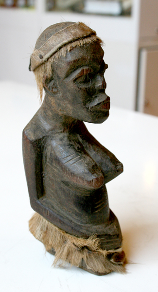 Makonde Wooden Fertility Sculpture