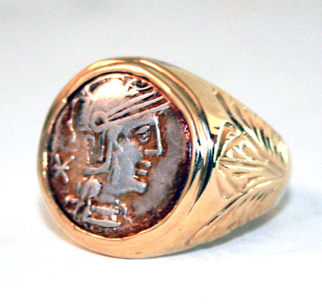 Roman Republican Silver Coin Ring