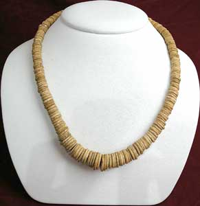 Necklace Of Antique Ivory Beads