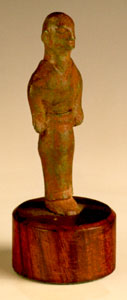 Bronze Votive Sculpture Possibly of a Priest