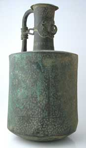 Bronze Water Jug with Incised Decoration