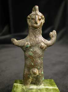 Bronze Sculpture of a Deity