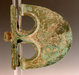 Bronze Fenestrated Axe Head