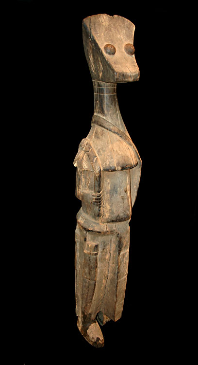 Senufo Guardian Wooden Figure