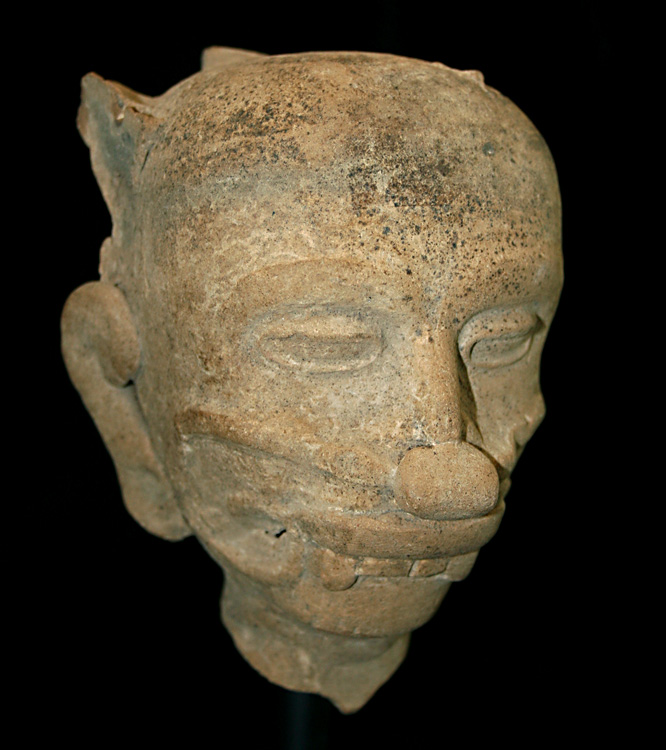 Veracruz Terracotta Head