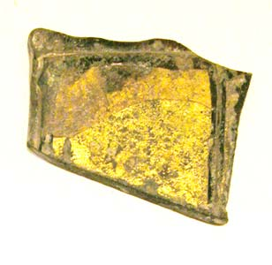 Byzantine Gold Sandwich Glass Fragment