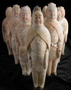 Northern Qi Set of Ten Warriors