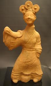 Han Dynasty Painted Pottery 'Sichuan' Lady Dancer