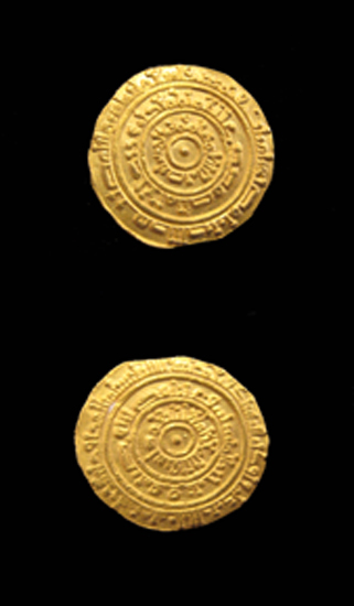 Fatimid Gold Dinar Minted Under Al-Mustansir