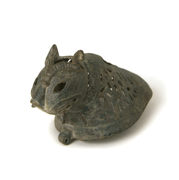 Incense Burner Lid in the Shape of a Feline