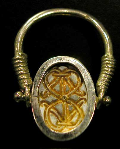 Finger-Ring with Scarab