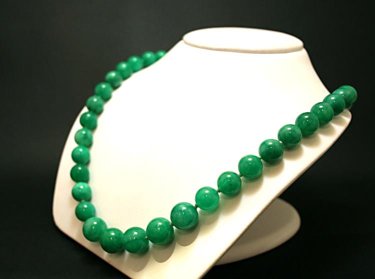 Jade  Beaded Necklace