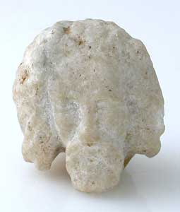 Sculptural Fragment of a Bearded Head