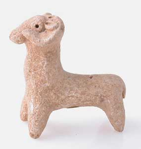 Middle Bronze Age Sculpture of a Ram
