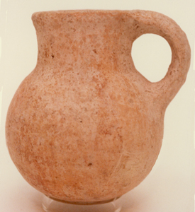 Terracotta Jug With Handle