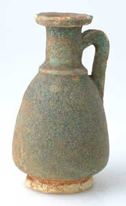 Faience Jug With Handle