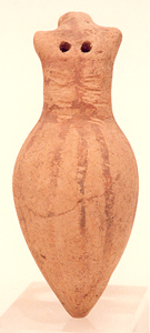 Late Bronze Age Juglet with Characteristics of an Owl