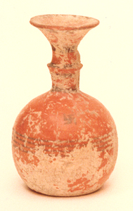 Iron Age Jug With Painted Decorations