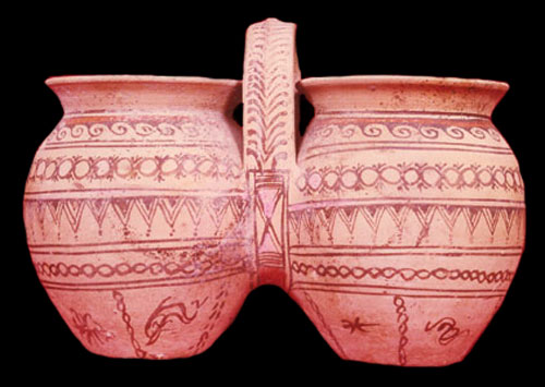 Daunian Painted Pottery Vessel
