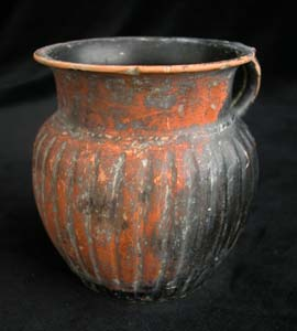 Greek Black-Glazed Measuring Cup