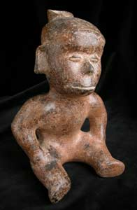 Colima Vessel in the Form of a Hunchback