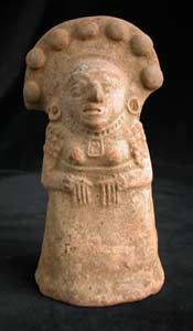 Mayan Sculpture Of A Woman