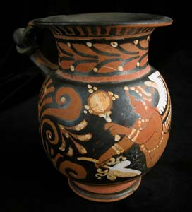 Apulian Red-Figure Jug