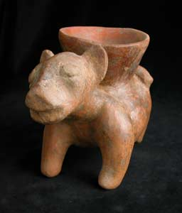 Colima Vessel in the Form of a Jaguar