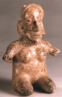 Jalisco Sculpture of a Seated Woman