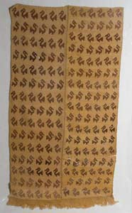 Chimu Woven Textile with Bird Motif