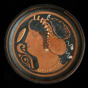 Apulian Red-Figure Dish