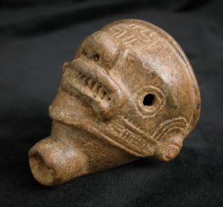 Ocarina in the Form of a Human Head