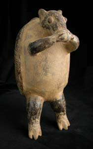 Terracotta Vessel in the Form of an Armadillo