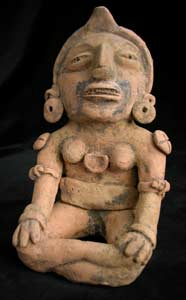 Veracruz Sculpture of a Seated Woman