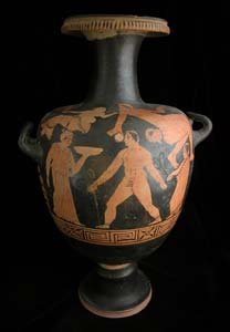 Campanian Red-Figure Hydria