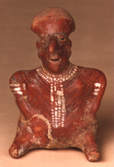Nayarit Sculpture of a Seated Woman