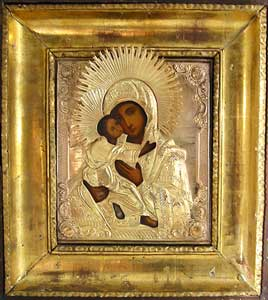 The Vladimir Mother of God