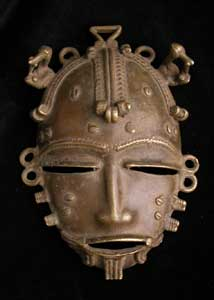 Baule Copper Alloy Mask