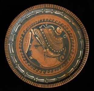 Apulian Red-Figure Raised Plate