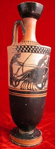 Attic Black-Figure Lekythos