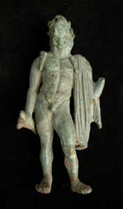 Roman Bronze Sculpture of Jupiter