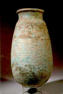 Ptolemaic Period Faience Jar