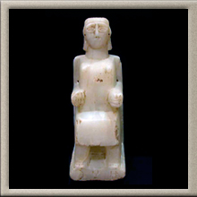 Sabaean Seated Statuette of a Woman