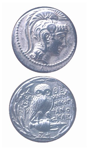 "Silver Tetradrachm in the ""New Style"""