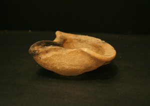 Early Israelite Terracotta Oil Lamp