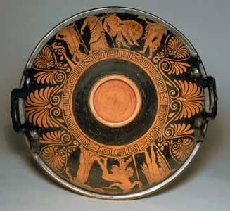 Apulian Red-Figured Patera