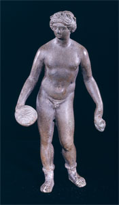 Roman Bronze Sculpture of an Athlete